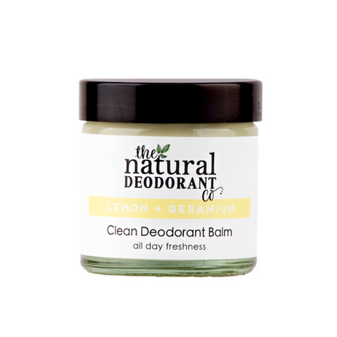 Lemon & Geranium - Clean Deodorant Balm 60ml