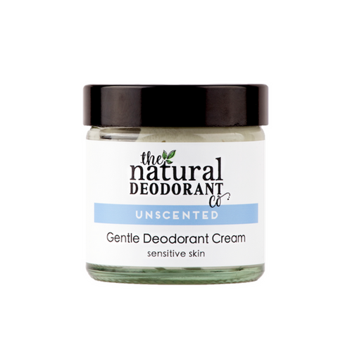 Unscented - Gentle Deodorant Cream with Coconut & Shea 60ml