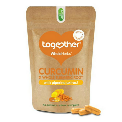 Curcumin & Turmeric WholeHerbs Supplement