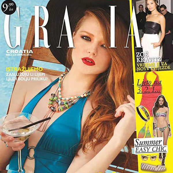 Grazia and Little Wonder