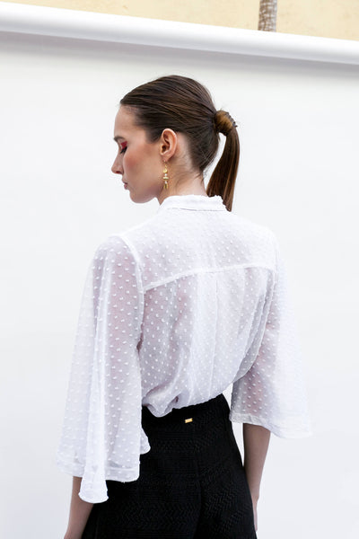 White blouse by Dott.