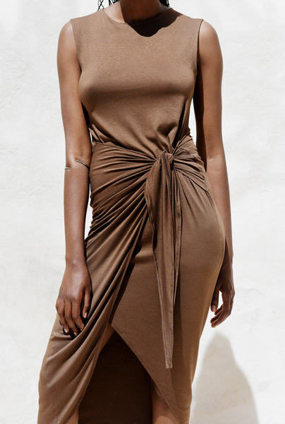 Naked knot dress
