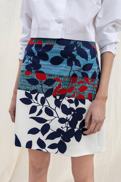 Printed miniskirt by Chicks on Chic