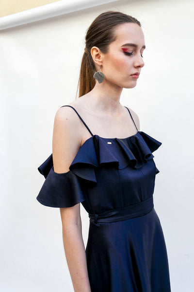 Darkblue dress by Dott.