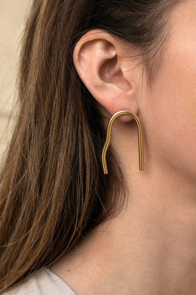 Cave earrings