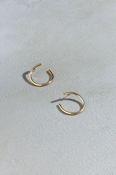 Twisted earrings size L