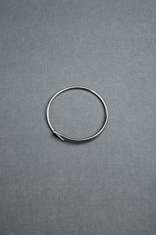 Tic Tac Toe bangle silver