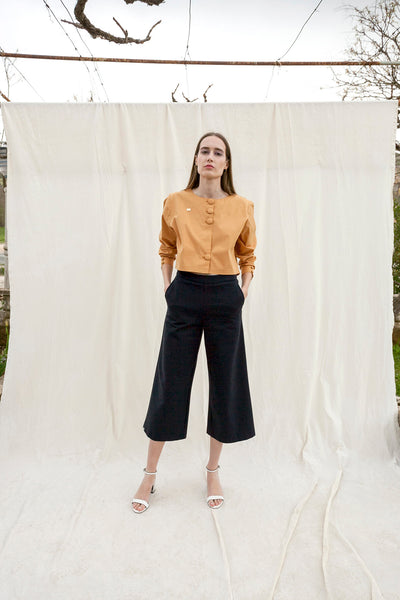Navy blue culotte by Chicks on Chic