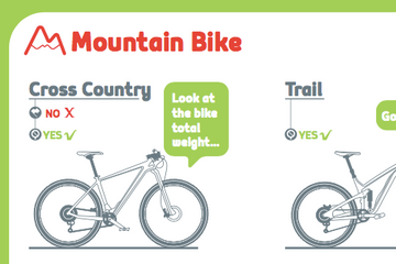 All Bicycles Infographic: The complete map of bikes