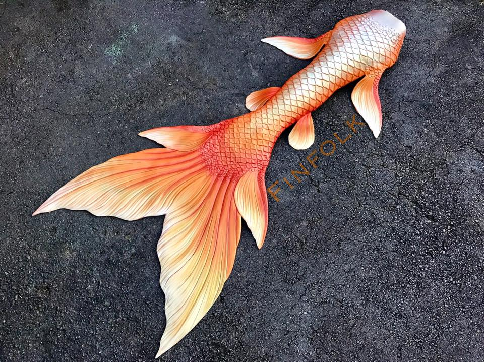 Custom Silicone Mermaid Tail
