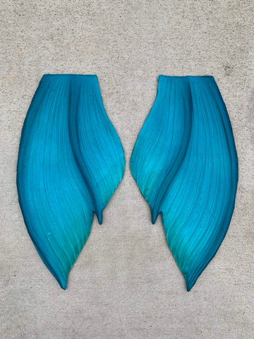 XS Green Mythic Tail with Hip & Heel Fins