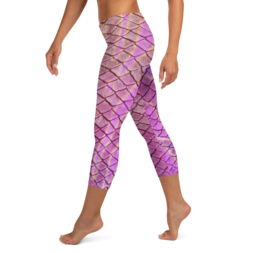 Syrena's Song Capri Leggings