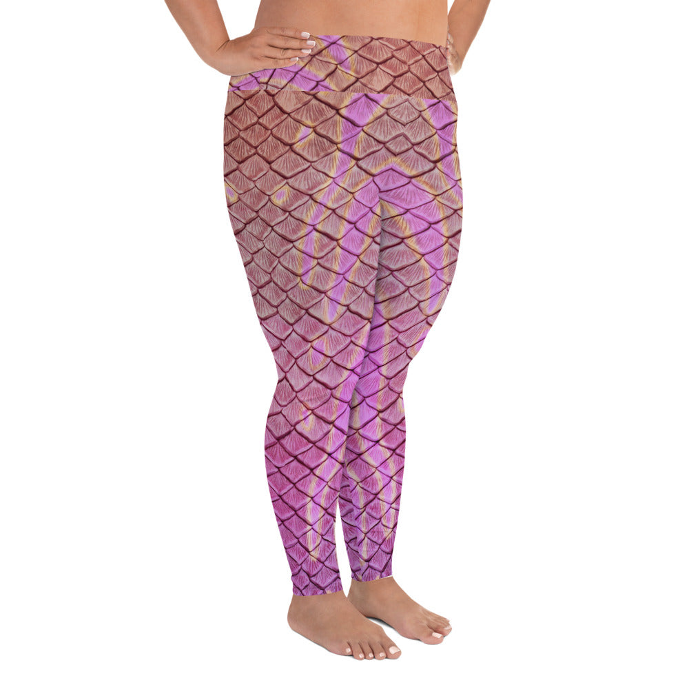 Syrena's Song Plus Size Leggings
