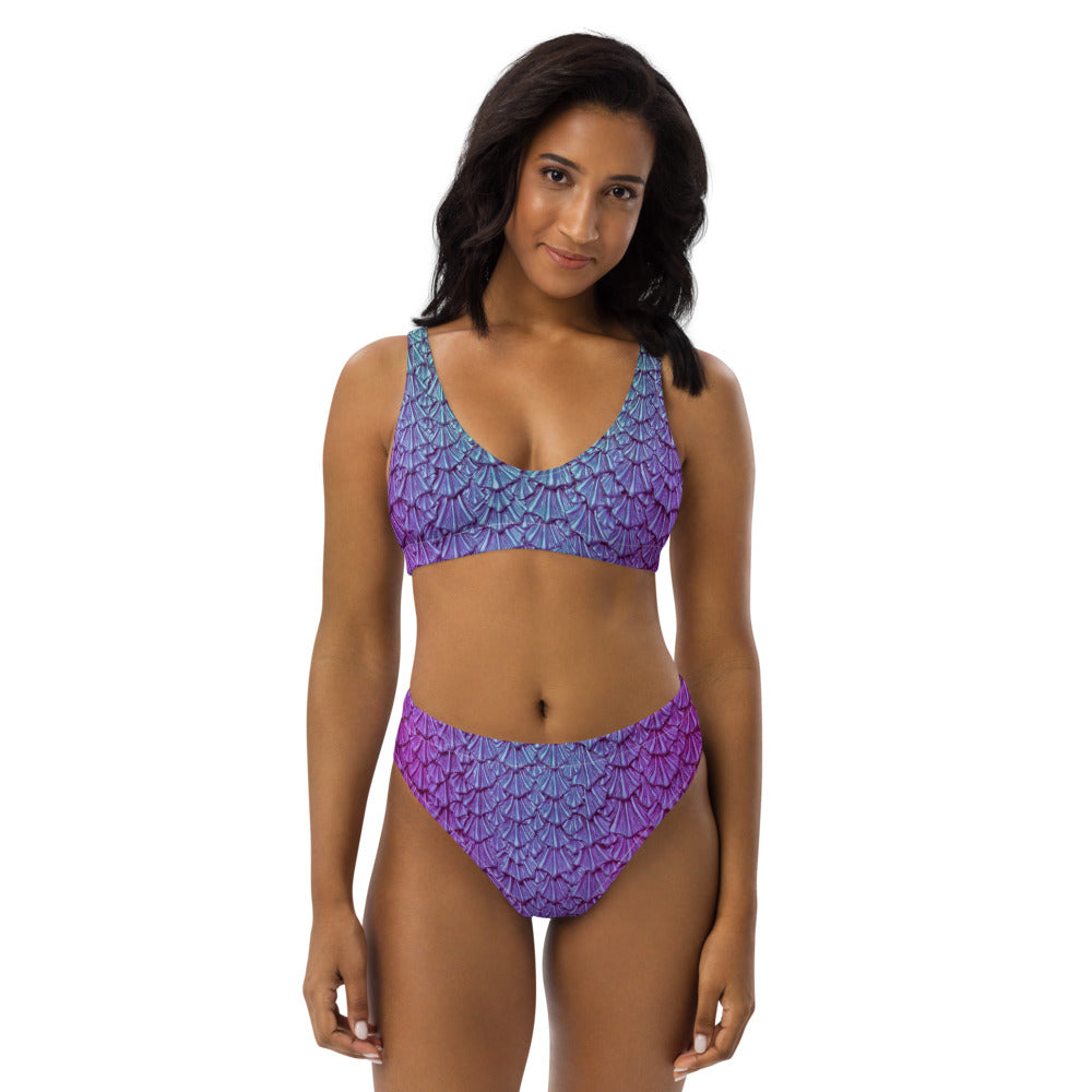 Orchid Isle Recycled high-waisted bikini