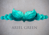 Ariel Green Signature Finfolk Silicone Top