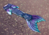 Atlantean Amethyst Iridescent Mythic Tail