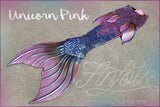 Unicorn Pink Iridescent Mythic Tail