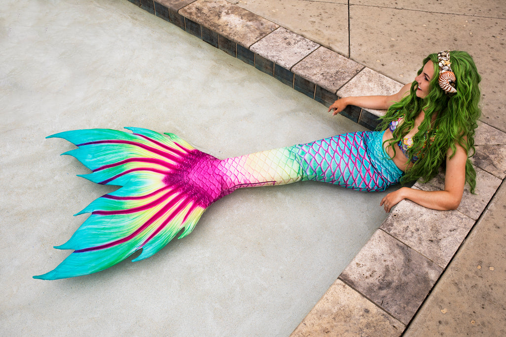Parrotfish Paradise Fabric Tail