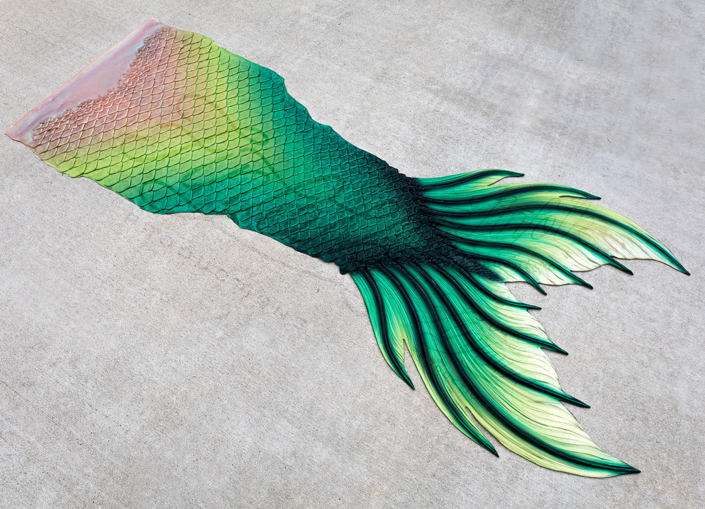 Loch Ness Silicone Mermaid Tail