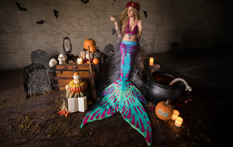 All Hallow's Eve Fabric Tail