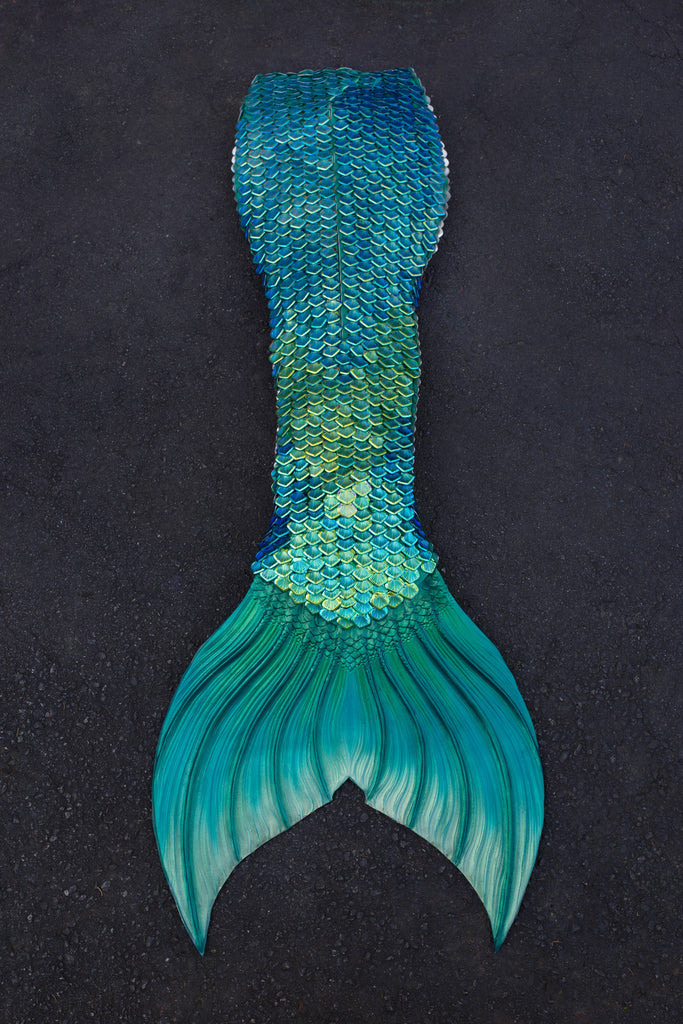 Ariel Green Iridescent Mythic Tail