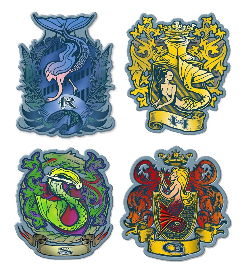 Magic Collection Enamel Pin Set- All 5 Pins!