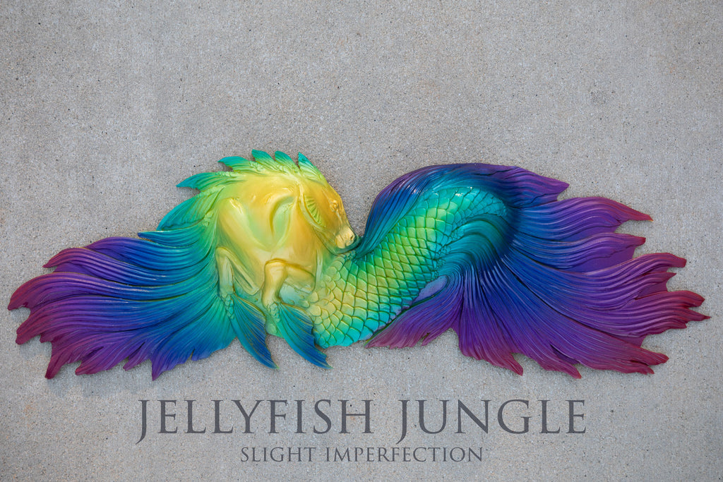 Jellyfish Jungle Kelpie Silicone Top