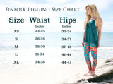 Tail Scale Leggings: Classic Cleo