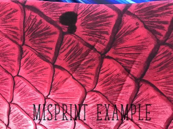 MISPRINT Parrotfish Paradise Fabric Tail