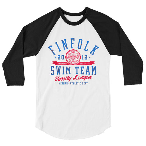 Finfolk Swim Team Crop Top