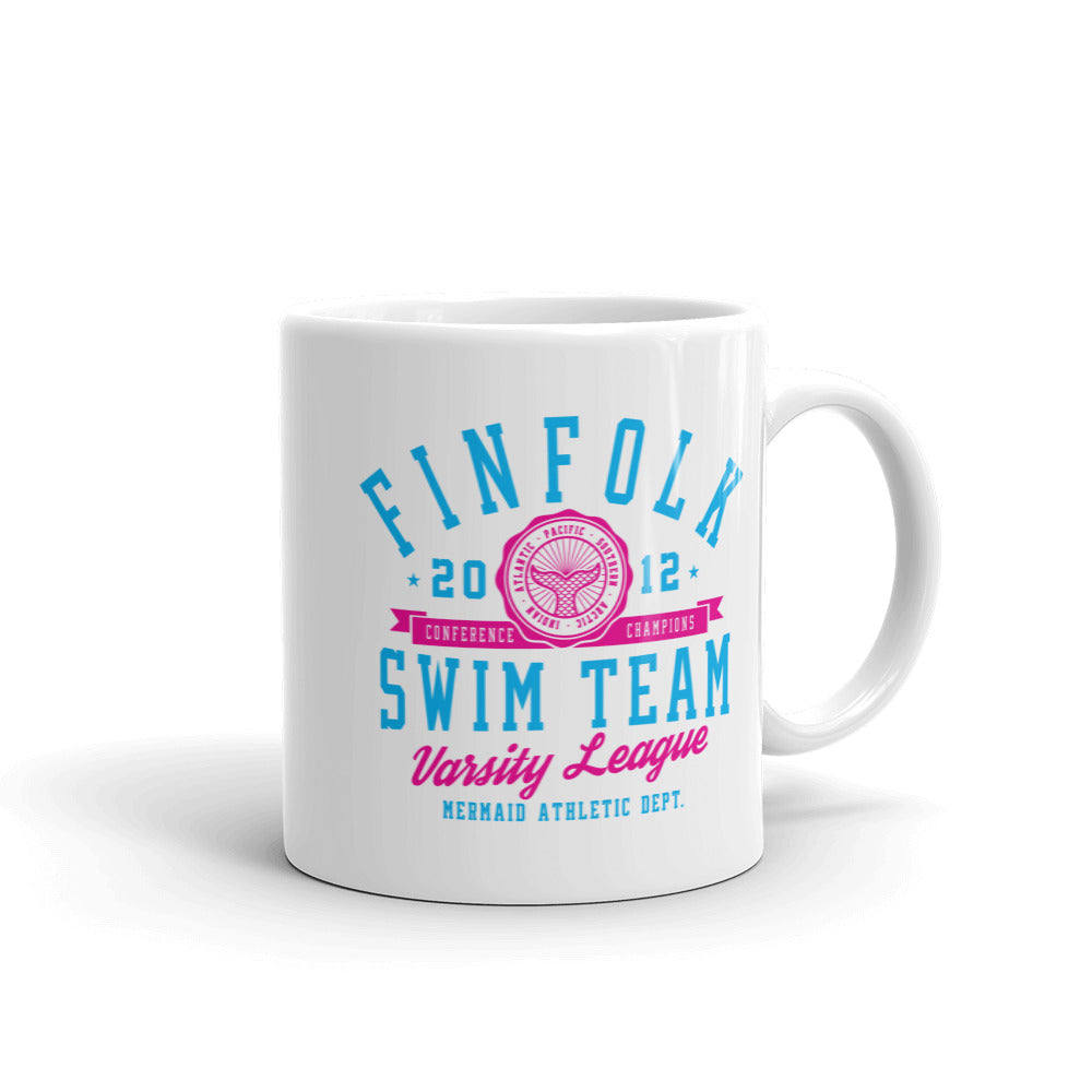 Finfolk Swim Team Mug