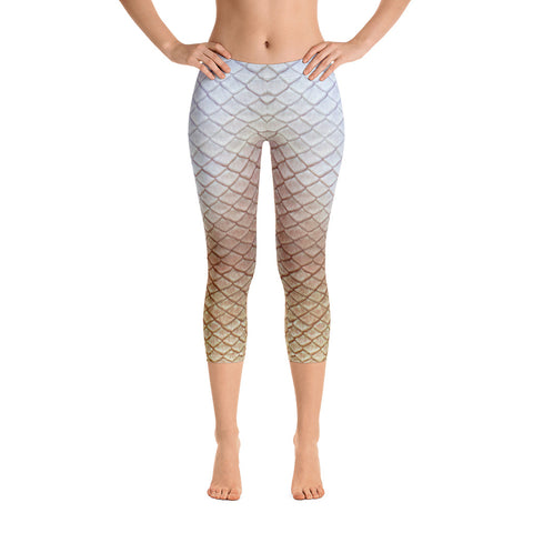 Tail Scale Leggings: Golden Giza