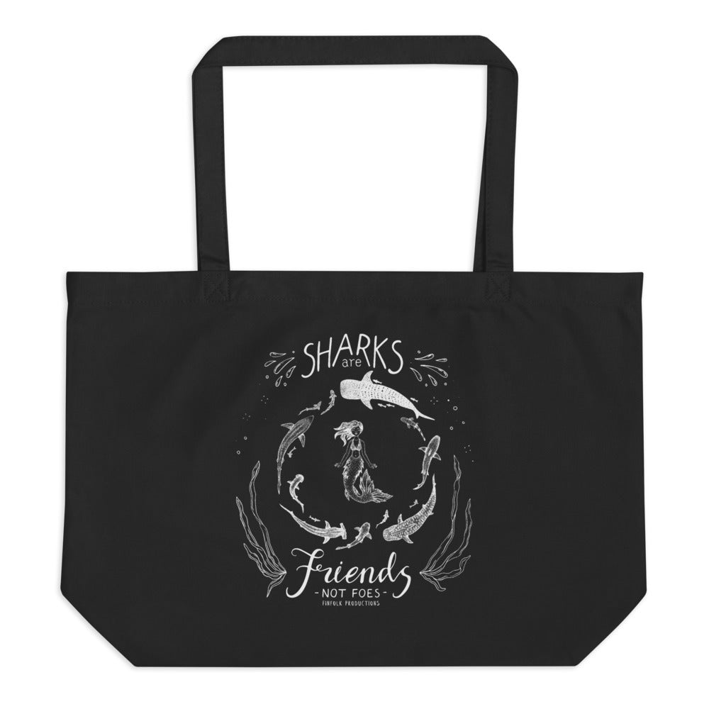 Shark Friends Large Tote