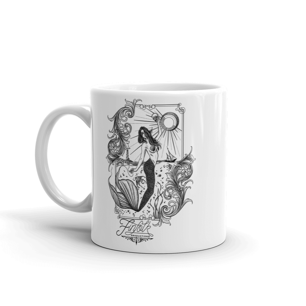 Tattooed Lagoon Coffee Cup