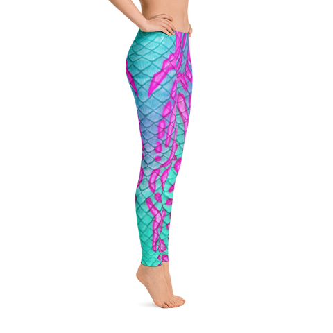 Ariel Dream Tail Scale Leggings