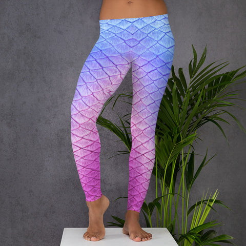 Tail Scale Leggings: Ariel Dream
