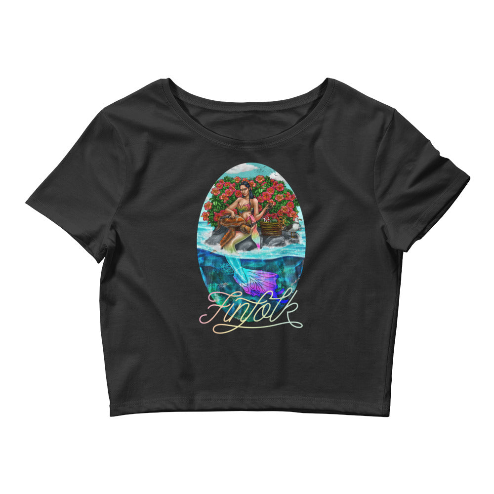 Guardian Mermaid Crop Tee