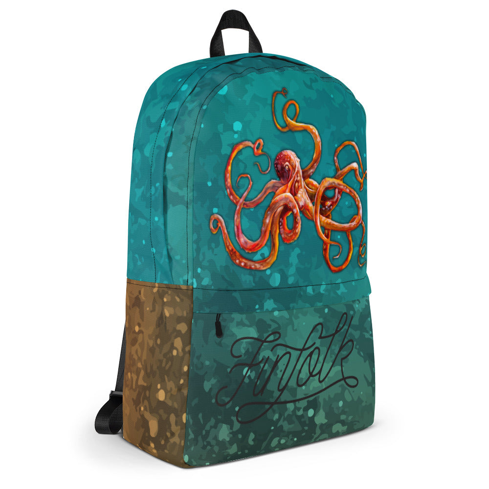 Curious Kraken Backpack