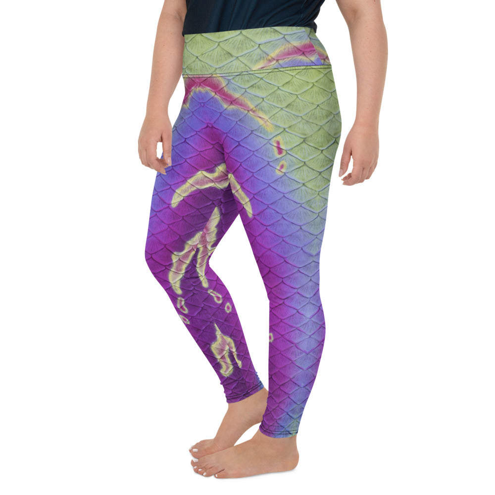 Unseelie Court Plus Size Leggings