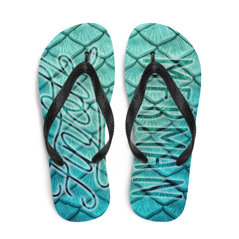 Finfolk Merman Fin-Flops: Starcrossed Silver