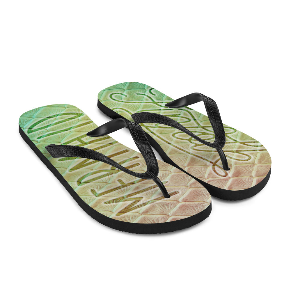Finfolk Mermaid Fin-Flops: Loch Ness