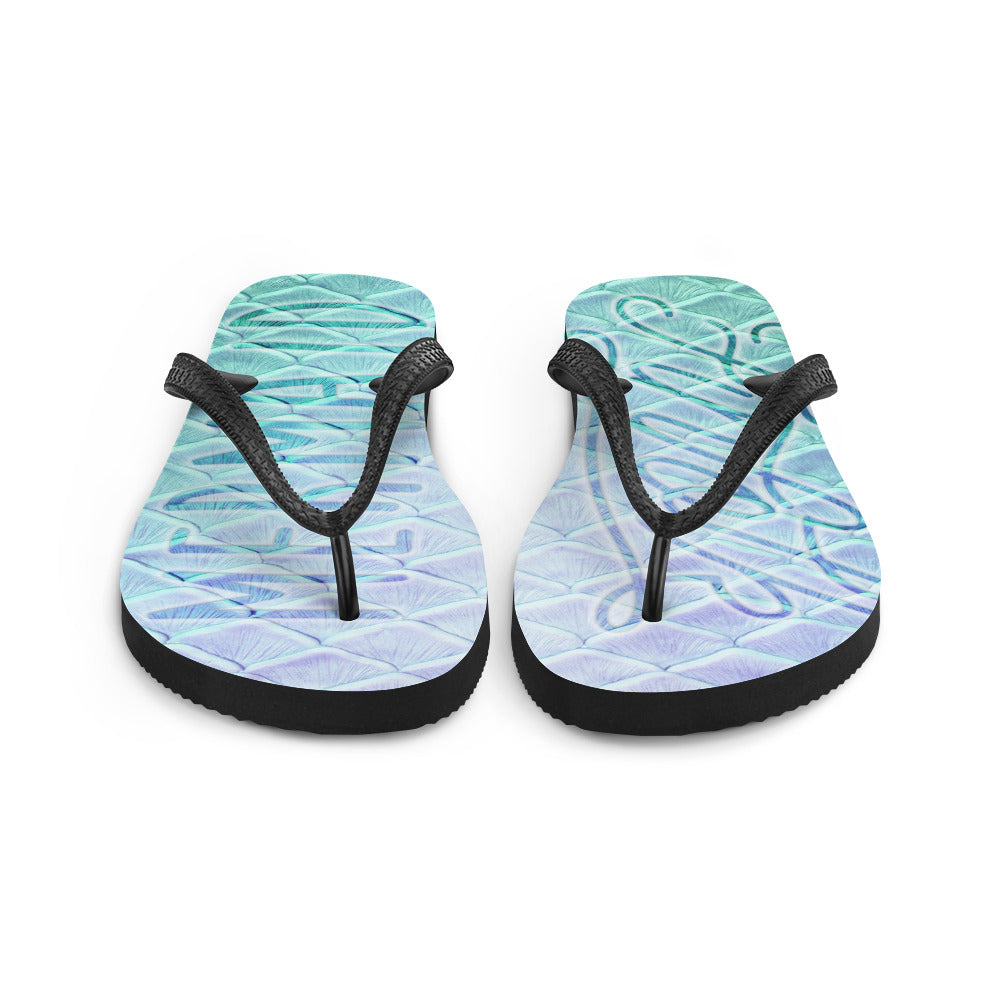 Finfolk Mermaid Fin-Flops: Caspian Cove