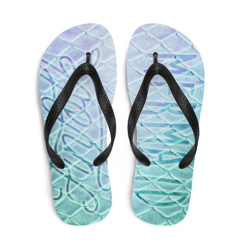 Finfolk Merman Fin-Flops: Loch Ness