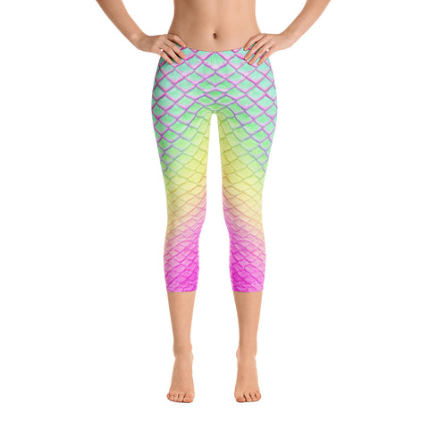 Tail Scale Leggings: Glaucus Atlanticus