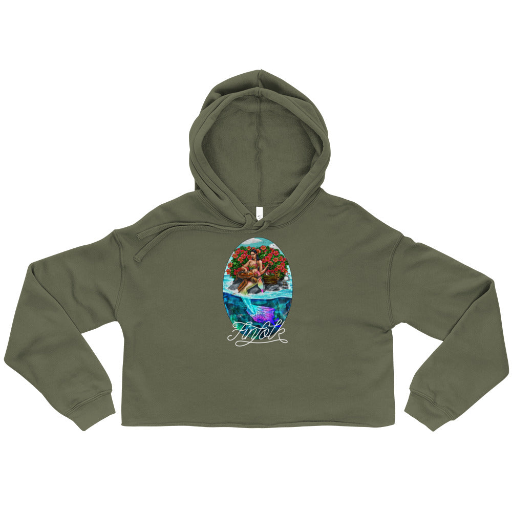 Guardian Mermaid Crop Hoodie