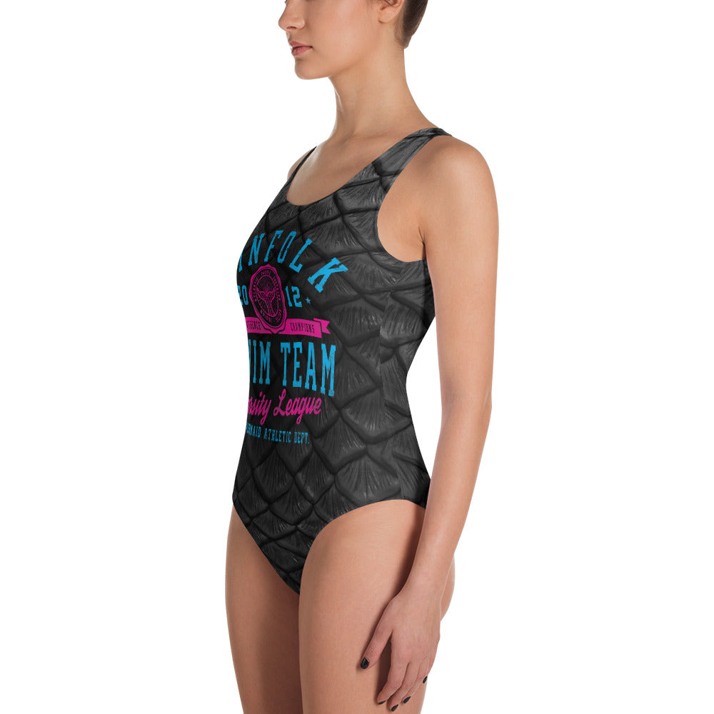 Finfolk Swim Team One-Piece Swimsuit