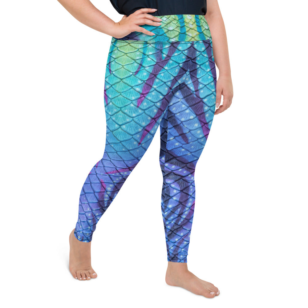 Navi Nightfall Plus Size Leggings