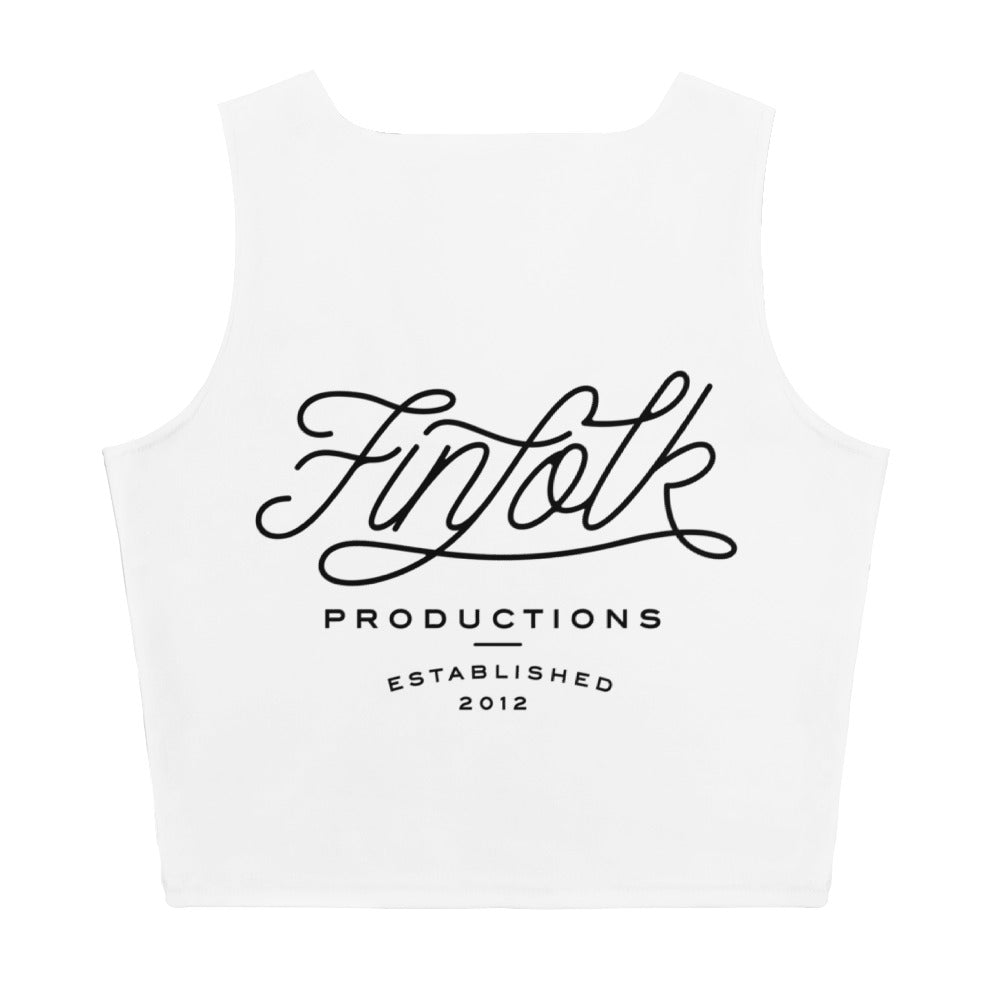 Shark Friends Crop Tank
