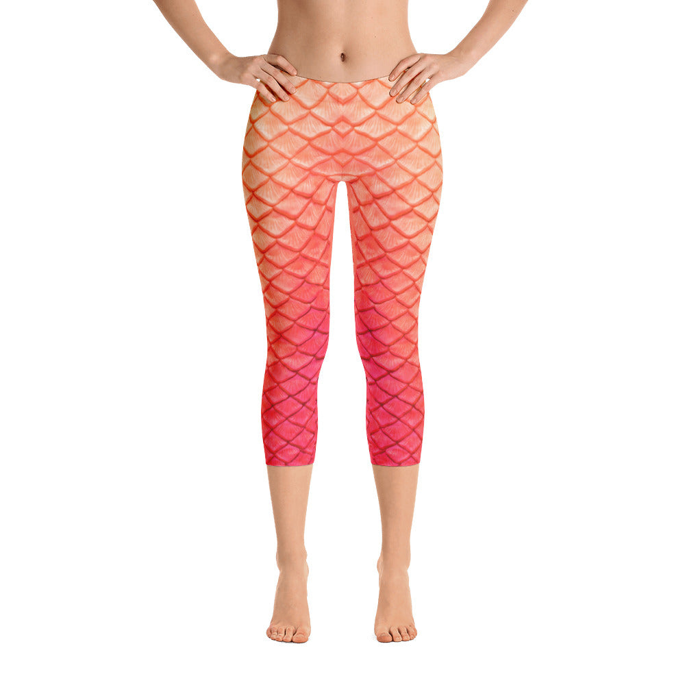 Peachy Keen Capri Leggings