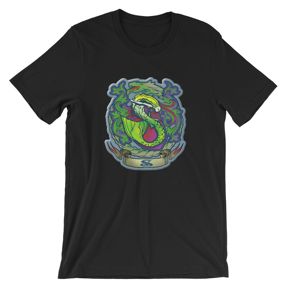 Emerald Finfolk Crest T-Shirt